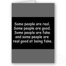 Being Fake