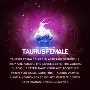 Taurus Quotes For Women Taurus female