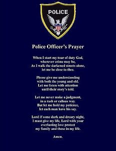 Police-Officer-Prayer-Poem-Wall-or-Room-Print-Policeman