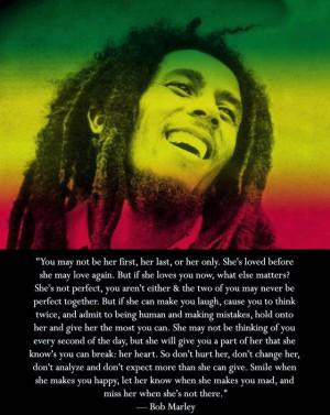 Bob Marley Wedding Quotes Pic #17