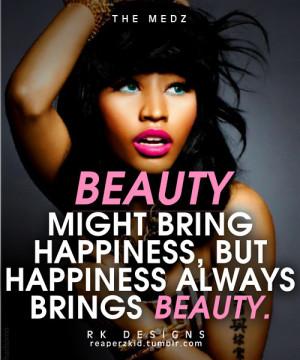 Nicki Minaj Quotes About Life Nicki minaj quotes about life