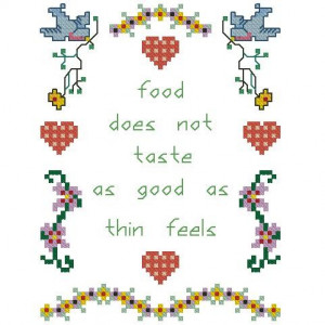 ALL STITCHES - INSPIRATIONAL DIET CROSS STITCH PATTERN .PDF -180