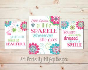 ... Inspirational Girls Quotes Baby Girl Nursery Toddler Girls Room Tween
