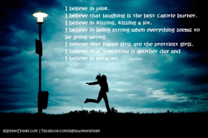 Dreamers: Believe In Thyself - I Believe quote