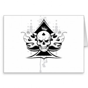 Free Quotes Pics on: Black Ace Card Of Spade