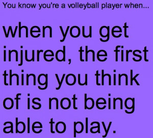 ... image include: volleyball, know that feeling, injury, love and play