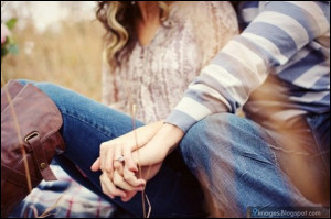 Couple, holding-hand, cute, love