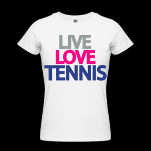 bestselling gifts tennis live love tennis t shirt