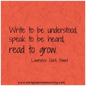 Speak Heard Read Grow...