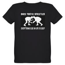 Organic Kids Wrestling-Shirt (dark) for