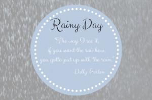 Rainy Weekend Roundup
