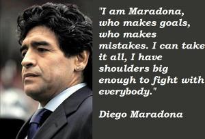Diego Maradona's Quotes