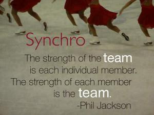 Synchronized Skating Quotes Synchronized skating, team