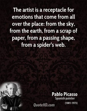 Gallery of Picasso Quotes Art Quotes By Pablo Picasso Art Therapy