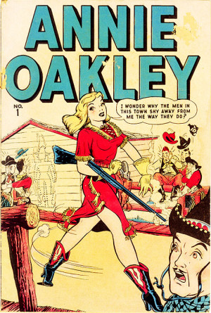 Marvel/Atlas Annie Oakley #1 1948 from Golden-Age Comic Cover Gallery