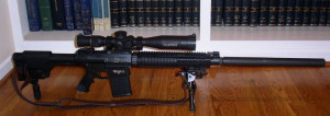 Stoner Rifle-25) is a semi-automatic sniper rifle designed by Eugene ...