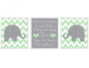 Room Inspiration, Quote, Colors Schemes, Future Baby, Elephant Nursery ...