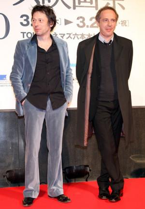 Actor Mathieu Amalric Right