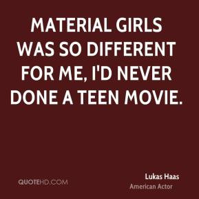 Material Girl Quotes