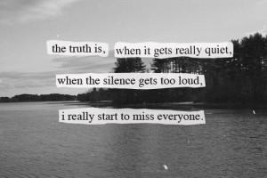 love truth quote Black and White text depressed depression sad ...