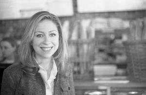 Chelsea Clinton to ABC News reporter Lynn Sherr