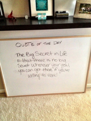 Do you keep quotes around your home or office?