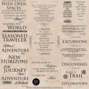 DGD - Digital Goodie Day - Travel Quote Digital Files (Free Printables ...