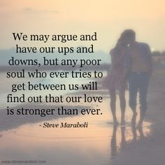 ... find out that our love is stronger than ever.