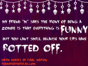 warm bodies fave book quotes