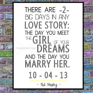 HIMYM Print: Ted Mosby