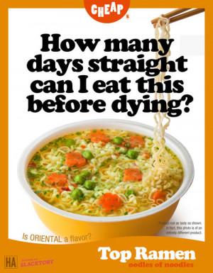 LOL food delicious ad ramen noodles