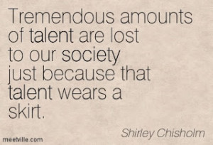 Souls of Black Notes : SHIRLEY CHISOLM: Political Trailblazer and ...