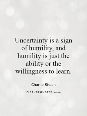 Humility Quotes and Sayings