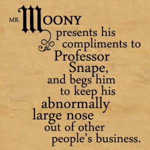 Funny Quotes - remus-lupin Fan Art