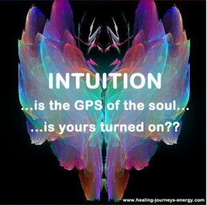 intuition ... Intuition is a suspension of logic and a sudden Light of ...