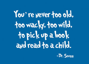 ... reading? Dr. Seuss, whose birthday is today, may have some answers
