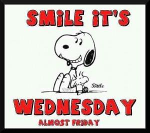 Smile its Wednesday