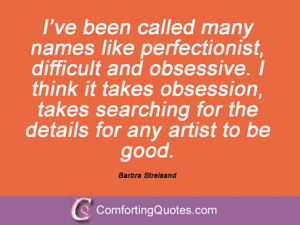Quotes And Sayings By Barbra Streisand