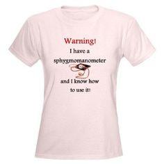 Amazon.com : Nurse or CNA Funny Women's Light T-Shirt by CafePress ...