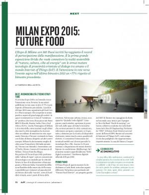 Milan Expo 2015: Future Food