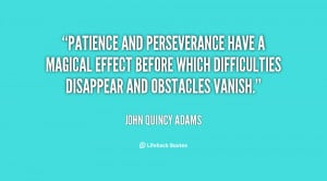 Patience And Perseverance Quotes Inspirational About Life