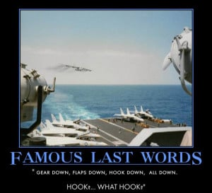 Famous Last Words - Military humor