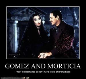 Gomez And Morticia Addams Quotes
