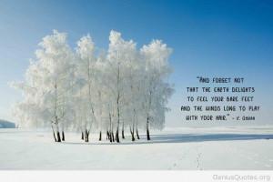 Winter Tree Quotes