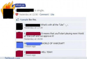 funny facebook break up status photos from: failbook.com