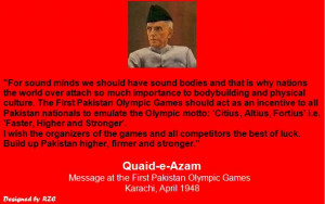 ... Pakistan Olympic Games, Karachi, April 1948 - Best sayings and Quotes