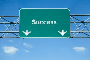 "Inspirational Sayings : ""The road to success is dotted with many ..."