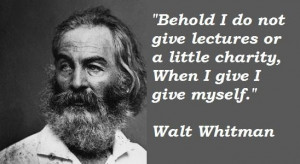 ... grass walt biographical essay is Walt Whitman Famous Quotes all walt