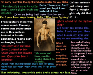 Jacob Twilight Love Quote