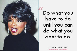 ... can change his future by merely changing his attitude. Oprah Winfrey